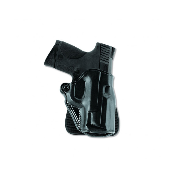 GALCO Speed Kimber 5in 1911 Right Hand Leather Paddle Holster (SPD212B)