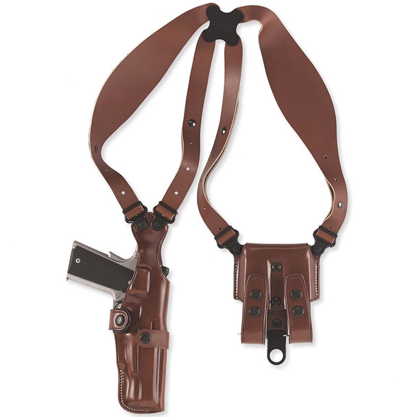 GALCO VHS Colt 5in 1911 Ambidextrous Leather Shoulder Holster (VHS212B)
