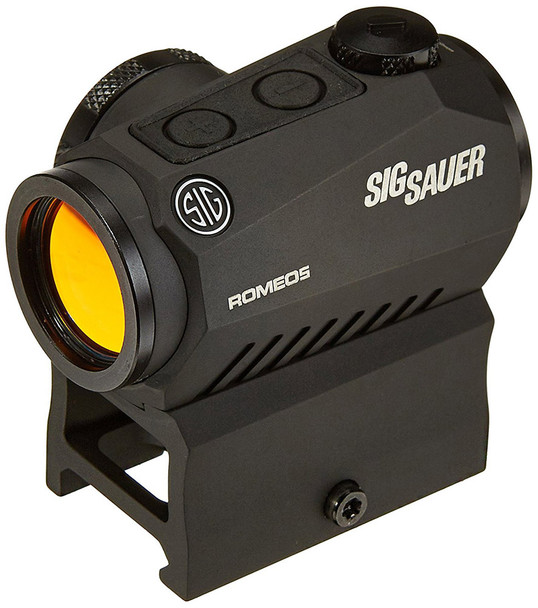 SIG SAUER ROMEO5 1X20 mm 2 MOA Red Dot 0.5 MOA Adjus Red Dot Sight (SOR52101)