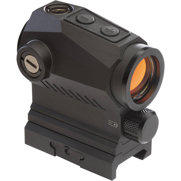 SIG SAUER ROMEO5 XDR 1X20 mm 2 MOA Red Dot 65 MOA Circ Compact Red Dot Sight (SOR52102)