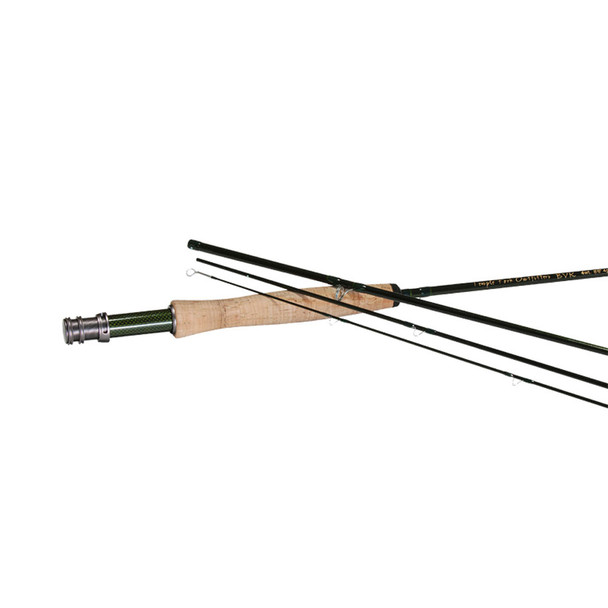 TEMPLE FORK OUTFITTERS BVK 6wt 9ft 4pc Fly Rod (TF-06-90-4-B)