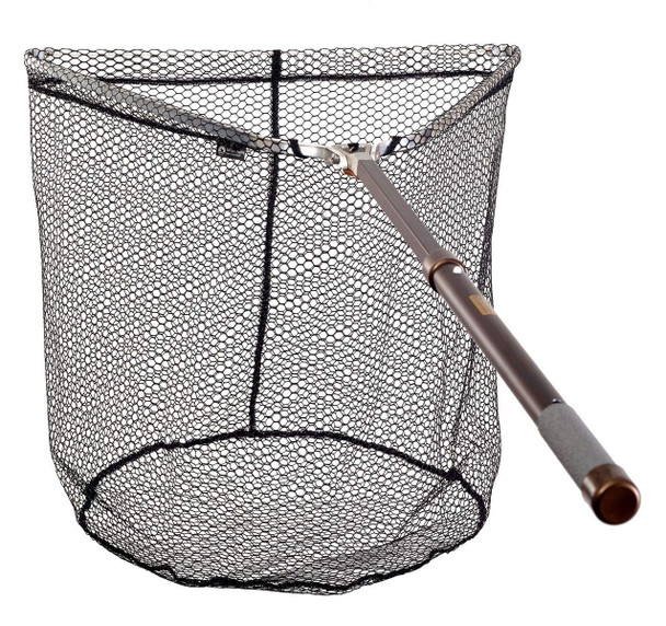 MCLEAN Tri Folding Telescopic Weigh Rubber Net (R120)