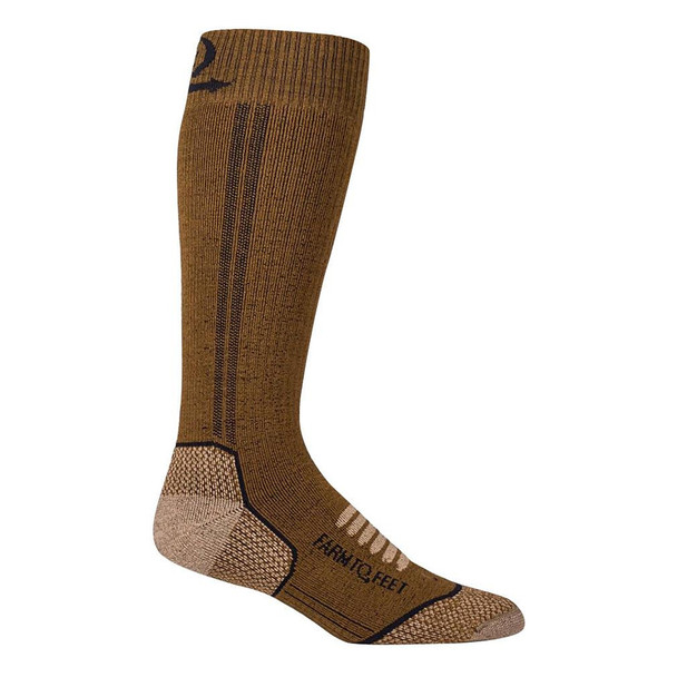FARM TO FEET Ely Midweight Mid-Calf Breen Socks (9679-210)