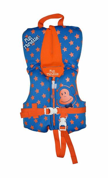 FULL THROTTLE Infant Flexback Neoprene PFD Blue Life Jacket (142209-500-000-15)