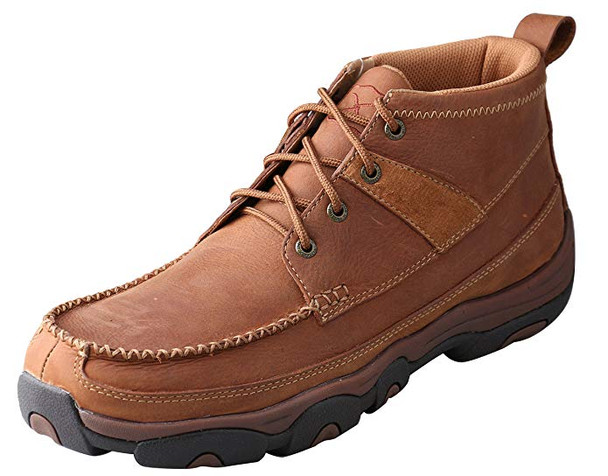 TWISTED X Mens Hiker Brown Shoe (MHK0003)