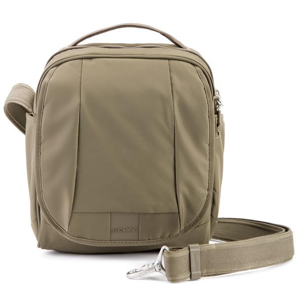 PACSAFE Metrosafe LS200 Medium Earth Khaki Crossbody Bag (30420221)