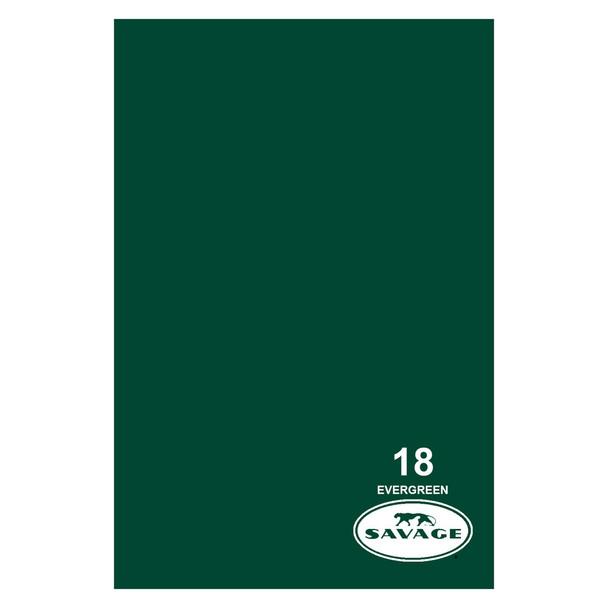 SAVAGE UNIVERSAL 53in x 12Yd Widetone Evergreen Paper (18-1253)