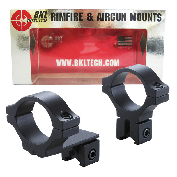 BKL Offset 1in Medium Dovetail Scope Rings (274-MB)