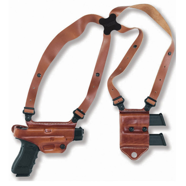 GALCO Miami Classic II Glock 17,22,31 Right Hand Leather Shoulder Holster (MCII224)