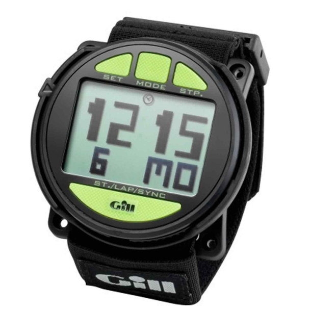 GILL Regatta Race Black Timer (W014B)