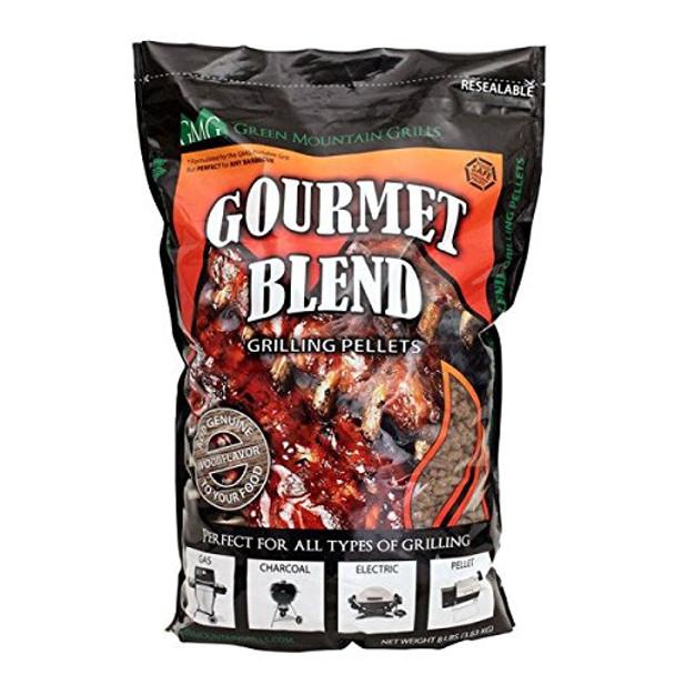 GREEN MOUNTAIN GRILLS Gourmet Blend Grilling Pellets 8lb Bag (GMG-2007)