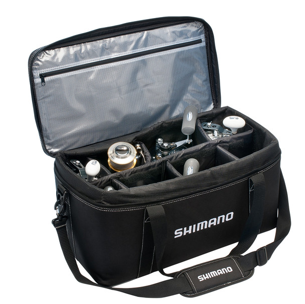 SHIMANO Bhaltair Medium Black Reel Bag (BHAL120MBK)