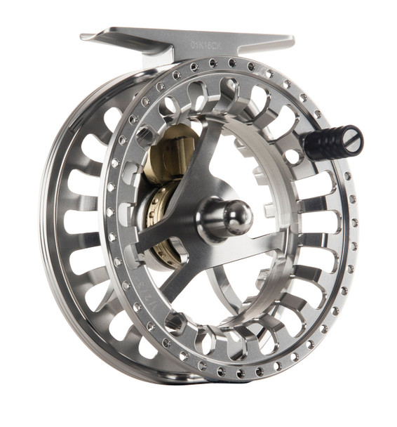 HARDY Ultralite FWDD Titanium/Green Fly Fishing Reel (HREFWDT030)