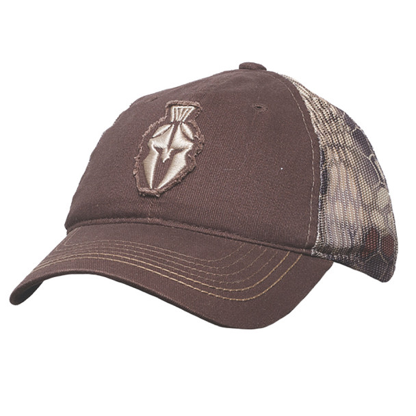 KRYPTEK Spartan D Highlander Brown Hat (18SPAHHB)