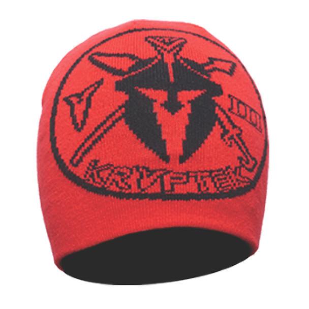 KRYPTEK Unit Patch Red Beanie (18UNIHRE)