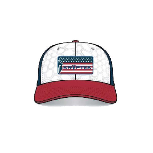 KRYPTEK USA Yeti/Navy Trucker Cap (19USAHYNV)