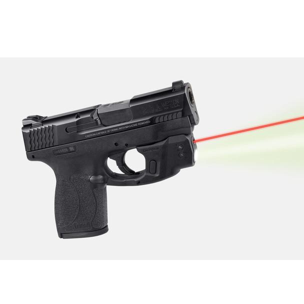 LASERMAX CenterFire S&W Shield .45 Cal Red Light & Laser with GripSense (CF-SHIELD45-C-R)