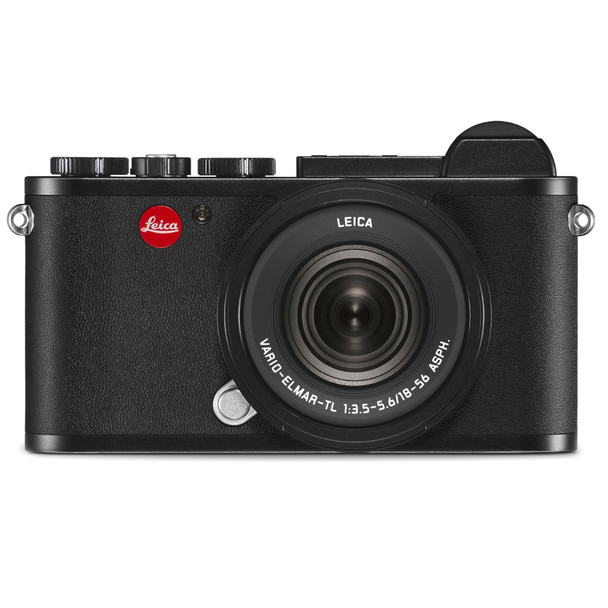 LEICA CL Black Vario Kit with 18-56mm Lens (19305)