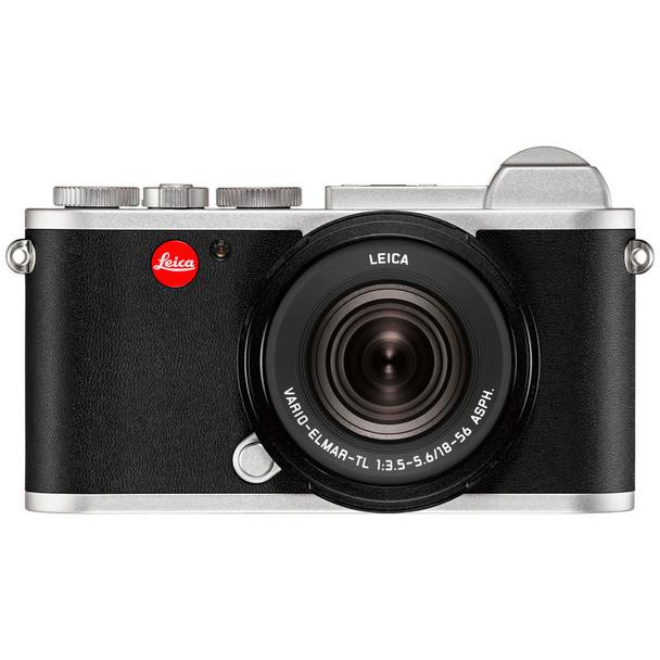 LEICA CL Silver Vario Digital Camera With 18-56mm Lens (19315)