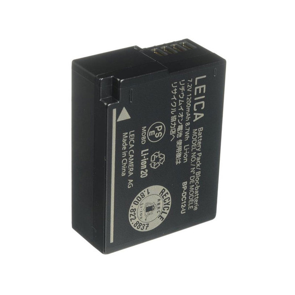 LEICA BP-DC 12 Li-Ion Battery For Leica Q (Typ 116) Digital Camera (19500)