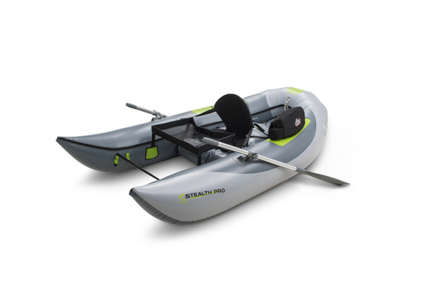 OUTCAST OSG Stealth Pro Gray/Lime Floating Boat (200-F00242)