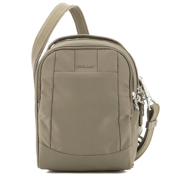 PACSAFE Metrosafe LS100 Earth Khaki Crossbody Bag  (30400221)