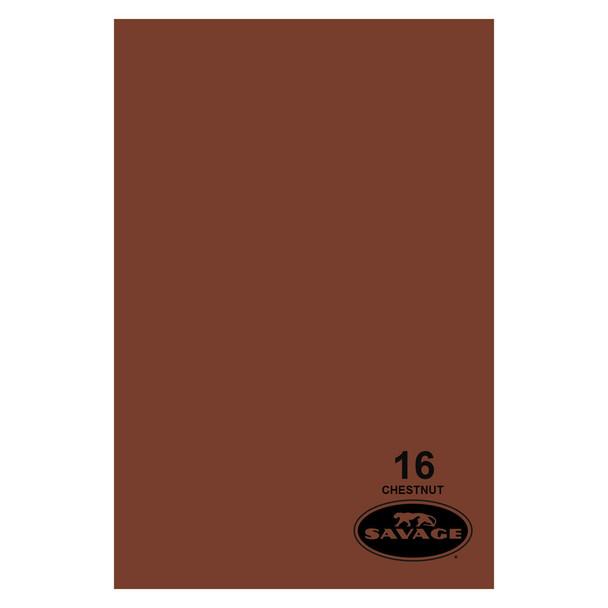 SAVAGE UNIVERSAL 86in x 12Yd Widetone Chestnut Paper (16-86)