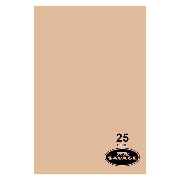 SAVAGE UNIVERSAL 86in x 12Yd Widetone Beige Paper (25-86)