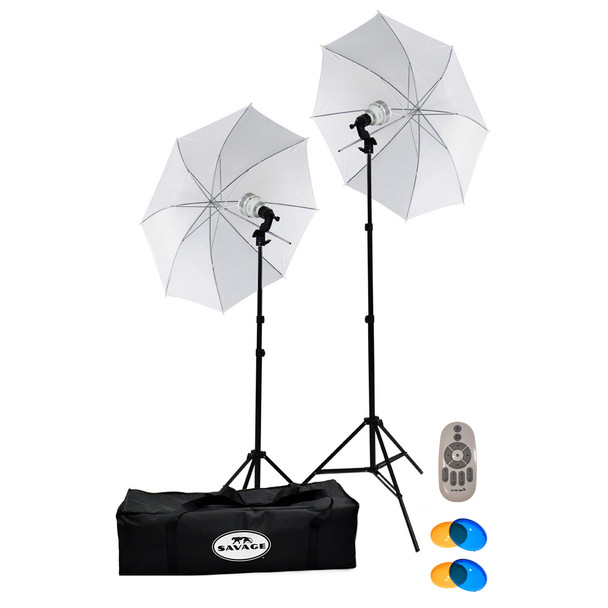 SAVAGE UNIVERSAL 500 Watt Led Studio Light Kit Led Lighting (LED60K-R)