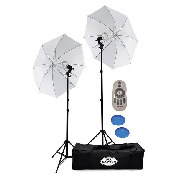 SAVAGE UNIVERSAL 700W Bi-Color LED Studio Light Kit Led Lighting (LED700K-BI)