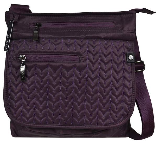 SHERPANI Jag LE Anti-Theft Fig Crossbody Bag (17-JAG00-04-06-0)