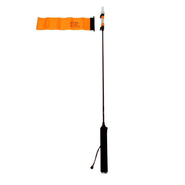 YAKATTACK VISIpole II GearTrac Ready Light with Flag (V2FM+FPG)