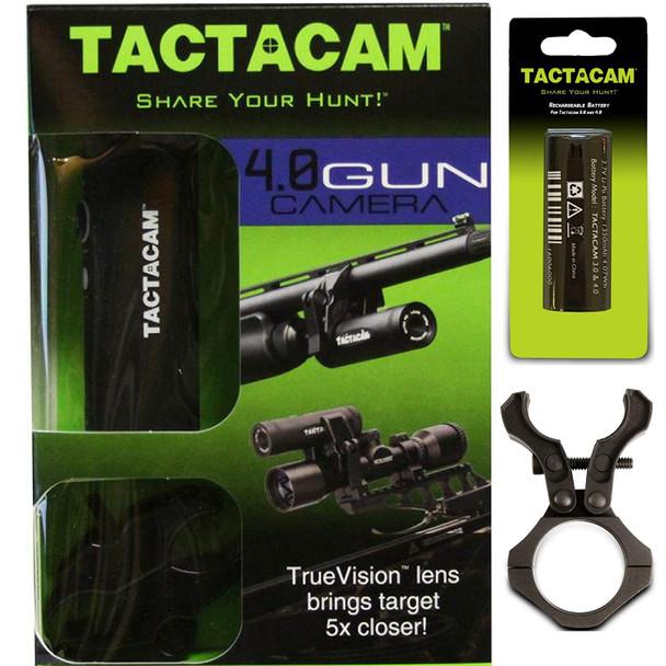 TACTACAM 4.0 Ultra HD Hunting Camera Gun Combo Pack (TA-4C-GUN)