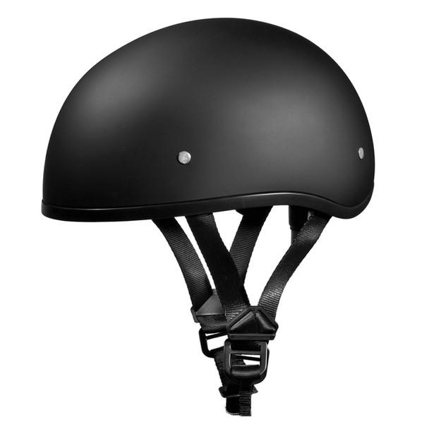 DAYTONA HELMETS Skull Dull Black Helmet (D1-BNS)