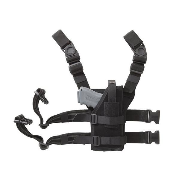 BLACKHAWK Nylon Universal Ambidextrous Leg Holster (40ALH1BK)