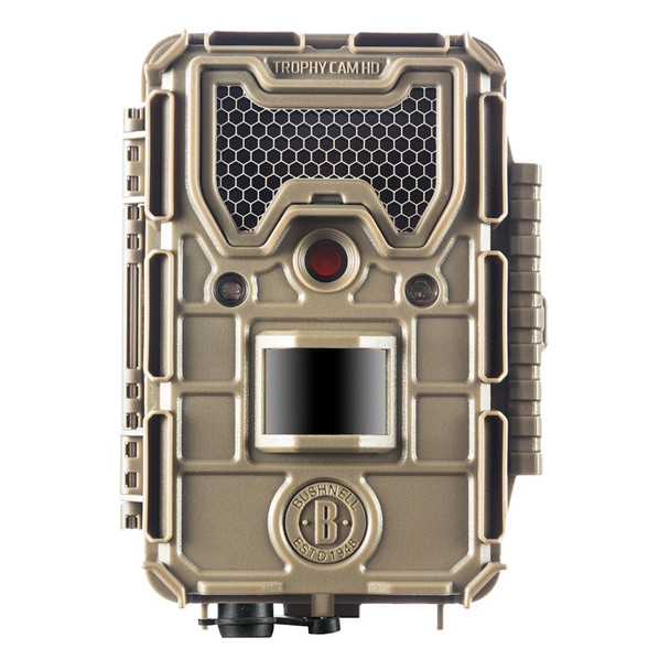 BUSHNELL Trophy Cam HD 20MP Aggressor Low Glow Tan Trail Camera (119874C)