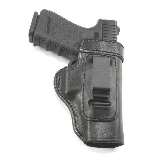 DON HUME Clip On H715-M Right Hand Ruger 345 Black Holster (J168825R)