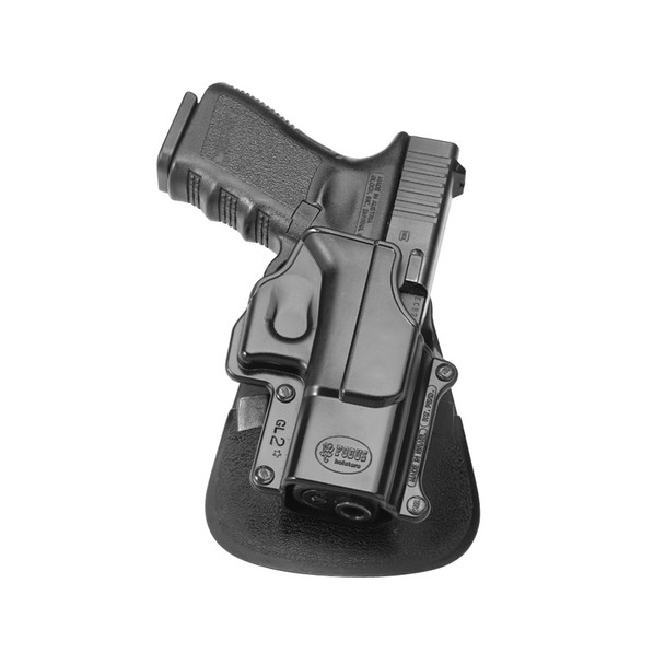 FOBUS Glock 17,19,22,23,26,31,32,33,34,35 Right Hand Digit Path Paddle Holster (GL2DPH)
