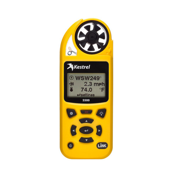 KESTREL 5500 Series Yellow Weather Meter (0855LVYEL)