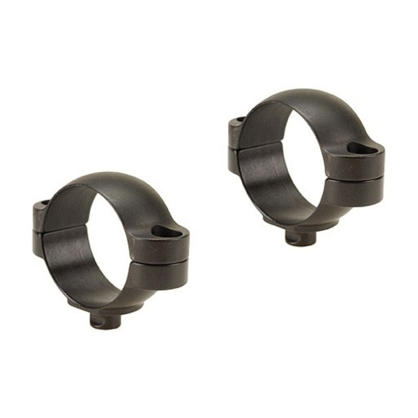 LEUPOLD Quick Release 30mm Low Matte Black Scope Rings (51717)