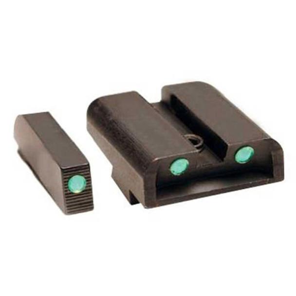 TRUGLO Brite-Site Tritium Green Springfield XD Handgun Sights (TG231X)