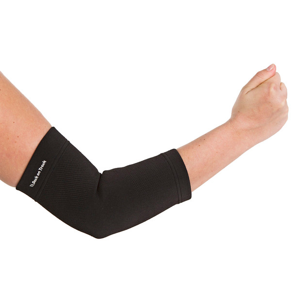 BACK ON TRACK Black Physio Elbow Brace (120700)