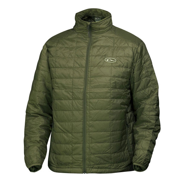 DRAKE MST Synthetic Down Pac Olive Jacket (DW1051-OLV)