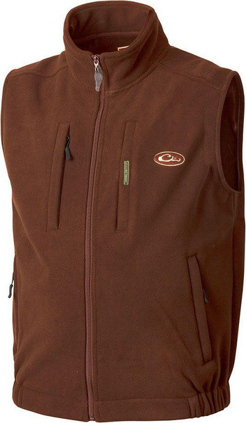 DRAKE MST Windproof Layering Brown Vest (DW16009-par)