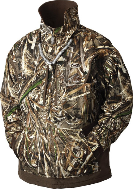 DRAKE MST Waterfowl Fleece Lined 1/4 Zip 2.0 Realtree Max-5 Pullover (DW2252-015)