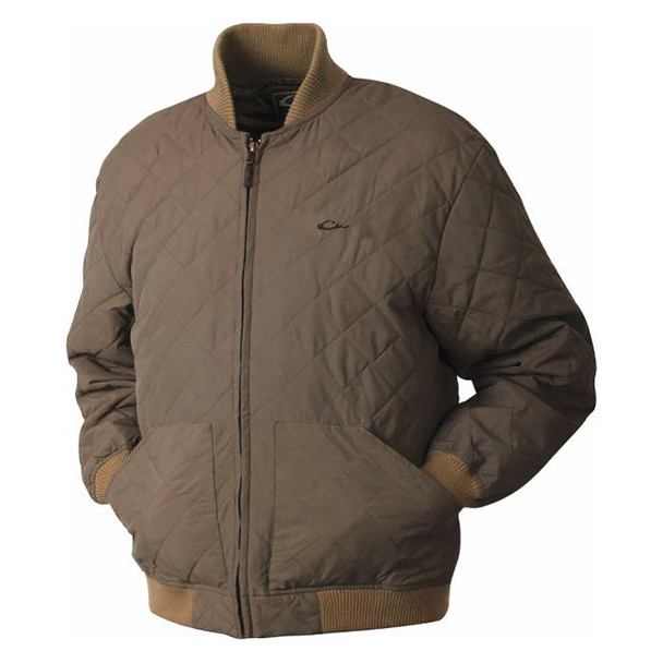 DRAKE Quilted Classic Antique Sage Jacket (DW4210-ANS)