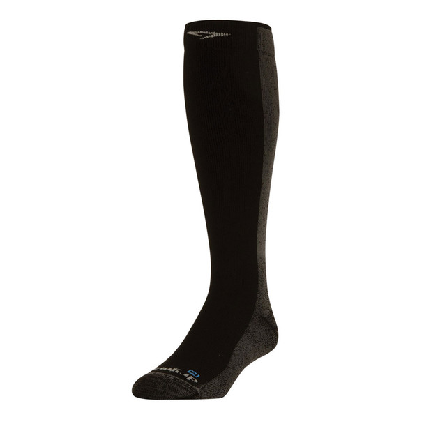 DRYMAX Cold Weather Running Over the Calf Black Socks (DMX-RUN-1606-P)