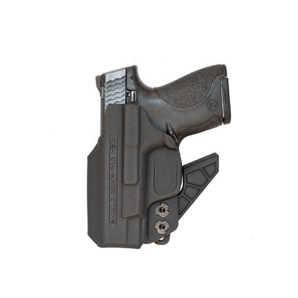 COMP-TAC eV2 S&W MP Shield 9mm/40 Appendix Inside The Waistband LH Holster (C756SW146LBKN)