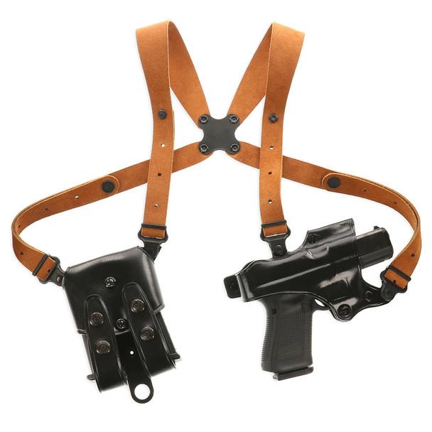 GALCO Jackass Rig Sig Sauer P226 Black RH Shoulder Holster System (JR248B)