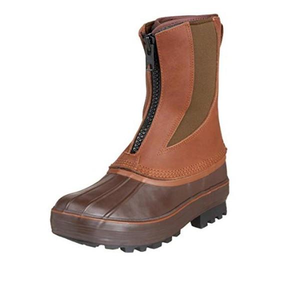KENETREK Bobcat K Zip Brown Boots (KE-SZ428-K)